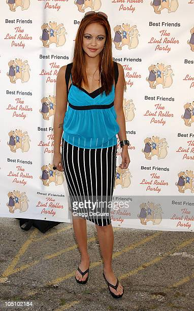 Marisa Ramirez during The Lint Roller Party at Barker Hanger in Santa Monica, California, United States.