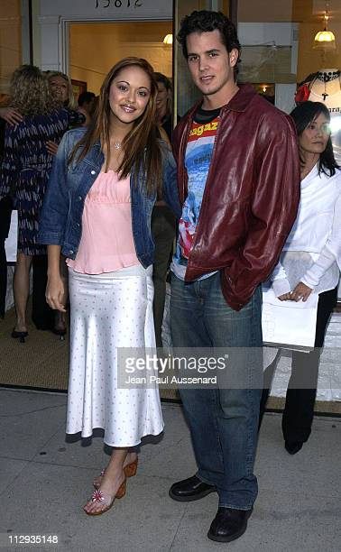 Marisa Ramirez husband Nathan Lavezoli during Opening of Belle Gray Lisa Rinna's New Clothing Boutique at Belle Gray in Sherman Oaks California...