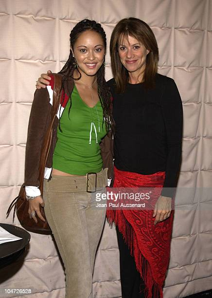 Marisa Ramirez Nancy Lee Grahn during ABC's 'General Hospital' Fan Day at Sportsman's Lodge in Studio City California United States