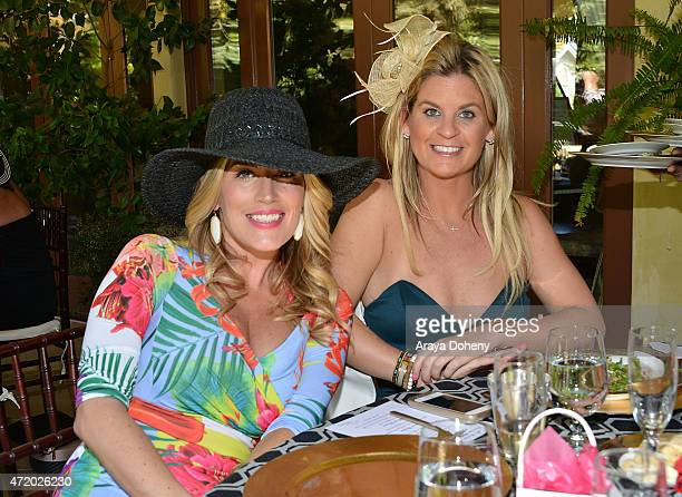 Marisa Sullivan and Liz Crokin attend the 2nd annual How2Girl Kentucky Derby Ladies Luncheon benefiting Bright Pink hosted by Courtney Sixxon May 2...