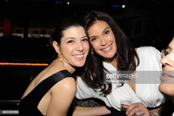 Marisa Tomei and Teri Hatcher attend THE HUFFINGTON POST PreInaugural Ball at The Newseum on January 19 2009 in Washington DC