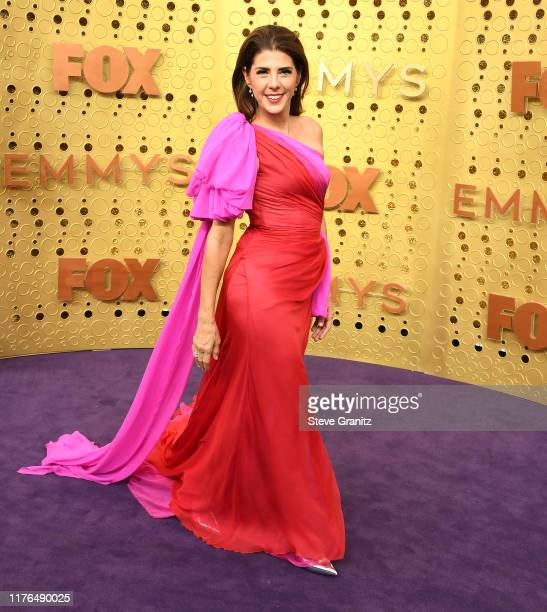 Marisa Tomei arrives at the 71st Emmy Awards at Microsoft Theater on September 22 2019 in Los Angeles California