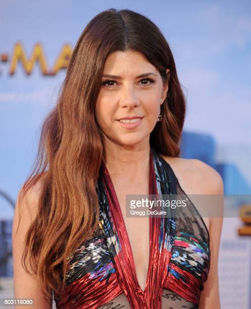Marisa Tomei arrives at the premiere of Columbia Pictures' SpiderMan Homecoming at TCL Chinese Theatre on June 28 2017 in Hollywood California