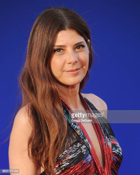 Marisa Tomei arrives at the premiere of Columbia Pictures' 'SpiderMan Homecoming' at TCL Chinese Theatre on June 28 2017 in Hollywood California