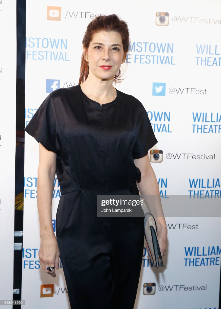 Marisa Tomei attends 2017 Williamstown Theatre Festival Gala at TAO Downtown on March 13, 2017 in New York City.