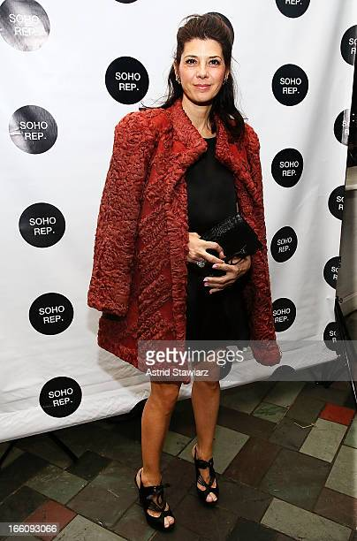 Marisa Tomei attends Soho Rep's 2013 Spring Gala on April 8 2013 in New York United States