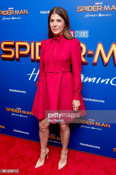 Marisa Tomei attends Spiderman Homecoming New York First Responders' screening at Henry R Luce Auditorium at Brookfield Place on June 26 2017 in New...