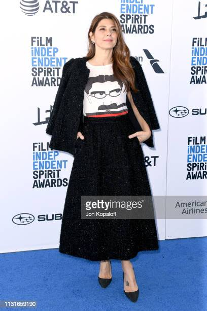 Marisa Tomei attends the 2019 Film Independent Spirit Awards on February 23 2019 in Santa Monica California