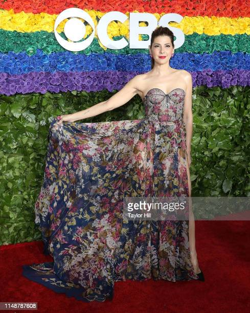 Marisa Tomei attends the 2019 Tony Awards at Radio City Music Hall on June 9 2019 in New York City