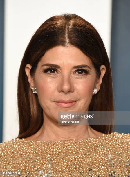 Marisa Tomei attends the 2020 Vanity Fair Oscar Party hosted by Radhika Jones at Wallis Annenberg Center for the Performing Arts on February 09 2020...
