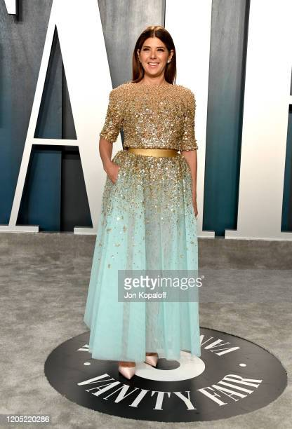 Marisa Tomei attends the 2020 Vanity Fair Oscar Party hosted by Radhika Jones at Wallis Annenberg Center for the Performing Arts on February 09, 2020...