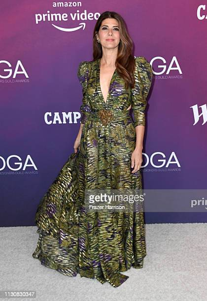 Marisa Tomei attends The 21st CDGA at The Beverly Hilton Hotel on February 19 2019 in Beverly Hills California