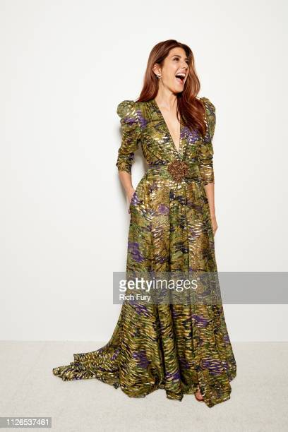 Marisa Tomei attends the 21st Costume Designers Guild Awards x Getty Images Portrait Studio presented by LG V40 ThinQ on February 19 2019 in Beverly...