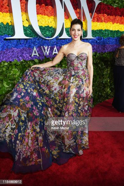 Marisa Tomei attends the 73rd Annual Tony Awards at Radio City Music Hall on June 09 2019 in New York City