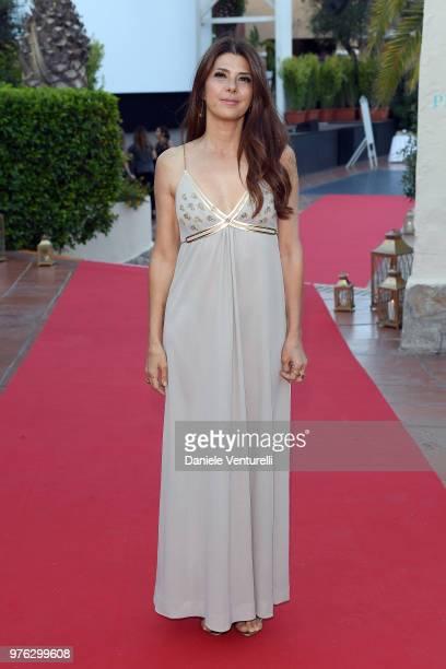 Marisa Tomei attends the 'Filming Italy Sardegna Festival' at Forte Village Resort on June 16 2018 in Santa Margherita di Pula Cagliari Italy