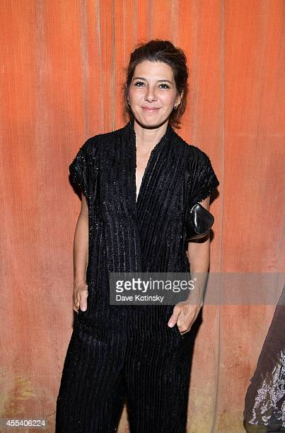 Marisa Tomei attends the first Tumblr atternds the Fashion Honor presented to Rodarte at The Jane Hotel on September 9 2014 in New York United States