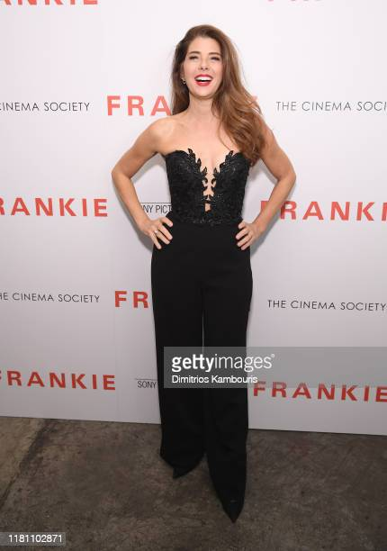 Marisa Tomei attends the Frankie New York Screening at Metrograph on October 14 2019 in New York City
