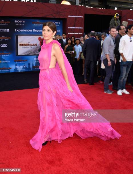 Marisa Tomei attends the Premiere Of Sony Pictures' SpiderMan Far From Home at TCL Chinese Theatre on June 26 2019 in Hollywood California