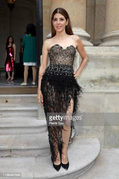 Marisa Tomei attends the RalphRusso Haute Couture Fall/Winter 2019 2020 show as part of Paris Fashion Week on July 01 2019 in Paris France