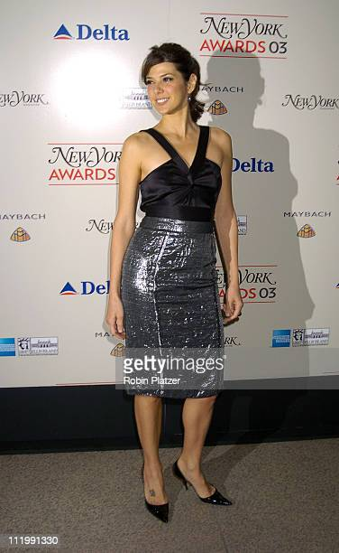Marisa Tomei during 2003 New York Magazine Awards at The Four Seasons Restaurant in New York City New York United States