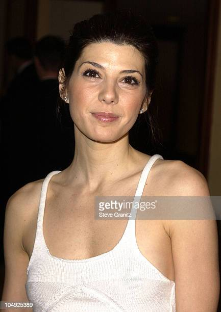 Marisa Tomei during 54th Annual Directors Guild of America Awards Arrivals at Century Plaza Hotel in Century City California United States