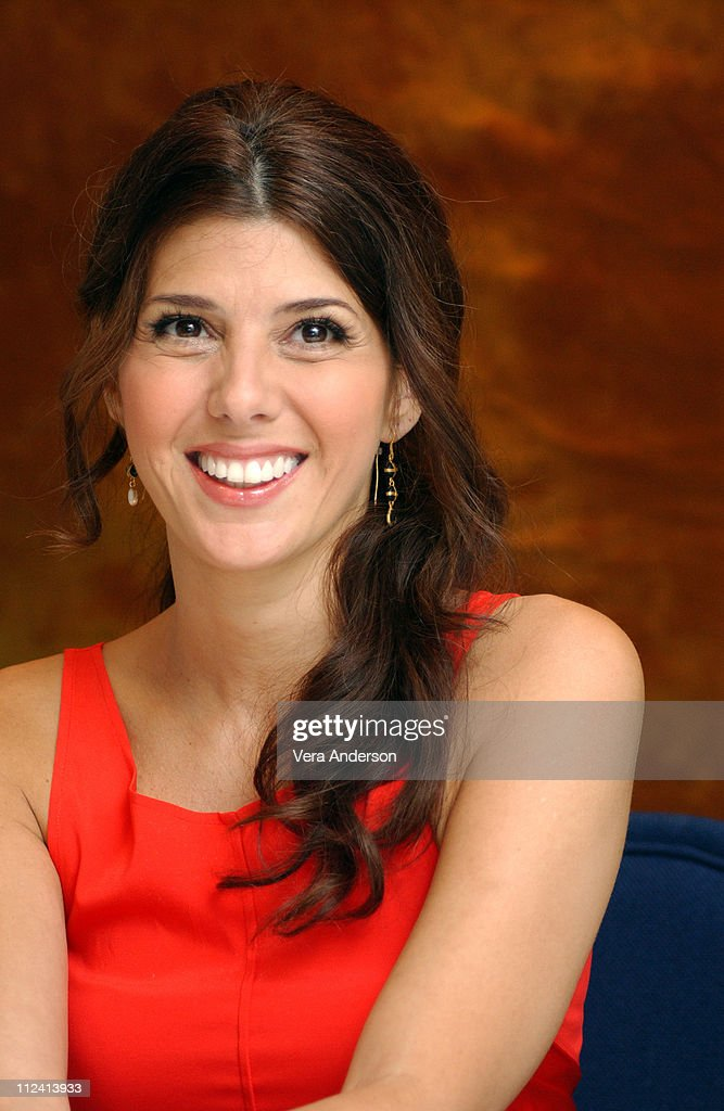 """Marisa Tomei during """"Alfie"""" Press Conference with Jude Law ..."""