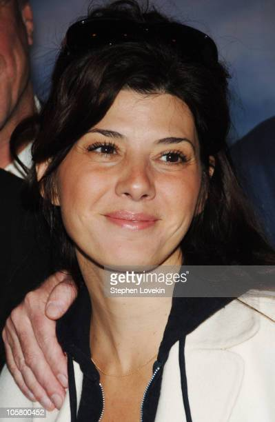 Marisa Tomei during Beirut New York City Staged Reading April 17 2006 at Lucille Lortel Theatre in New York City New York United States