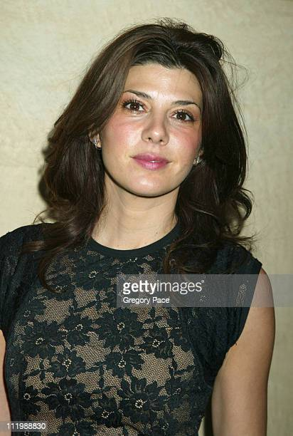 Marisa Tomei during CitymealsOnWheels' 17th Annual Power Lunch for Women Inside at The Rainbow Room in New York City New York United States