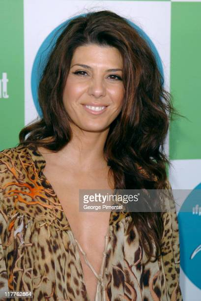 Marisa Tomei during The 20th Annual IFP Independent Spirit Awards Bravo on the Red Carpet in Santa Monica California United States