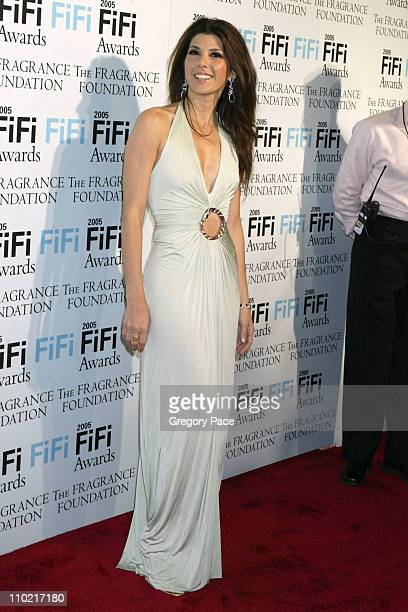 Marisa Tomei during The Fragrance Foundation's 2005 FiFi Awards Arrivals at Hammerstein Ballroom in New York City New York United States