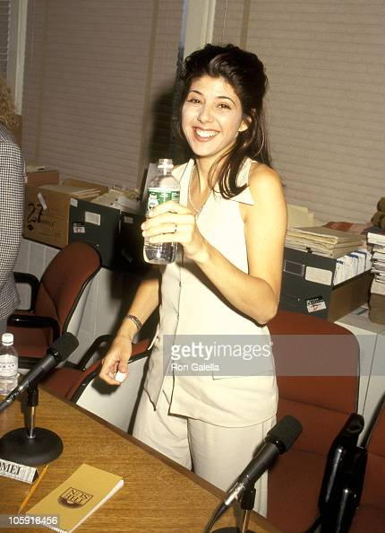 """Marisa Tomei during """"The Paper"""" Press Conference - July 19 ..."""