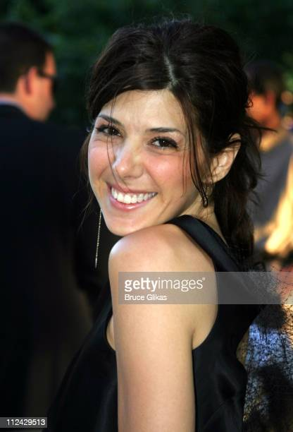 Marisa Tomei in As Four during Opening Night of 'Henry V' and Summer Benefit for The Public Theater and Shakespeare in Central Park at Delacorte...