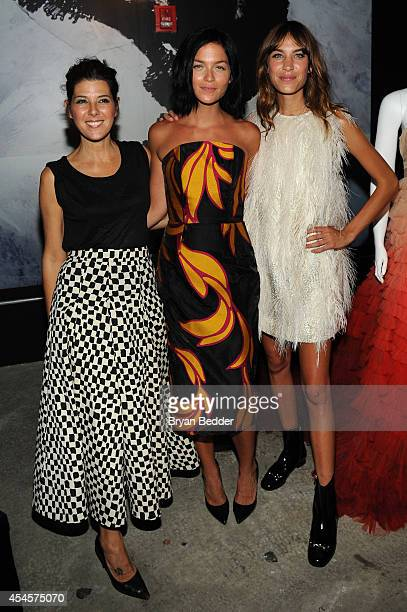 Marisa Tomei Leigh Lezark and Alexa Chung attend Christian Siriano's celebration of his new fragrance with a Stoli Vodka cocktail at the designer's...
