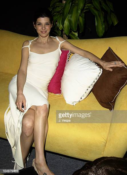 Marisa Tomei relaxing in Backstage Creations Talent Retreat designed by Kiyo Ohara from Dragon 88