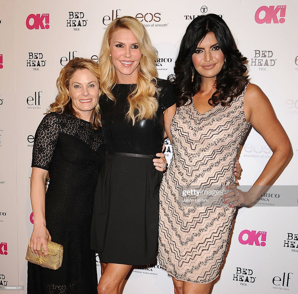 Marisa Zanuck, Brandi Glanville and Jennifer Gimenez attend OK! Magazine's annual 'So Sexy' party at SkyBar at the Mondrian Los Angeles on April 17, 2013 in West Hollywood, California.