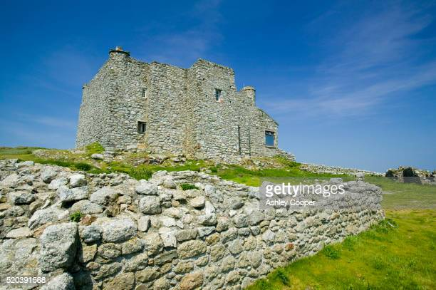 marisco castle ruins - castle stock pictures, royalty-free photos & images