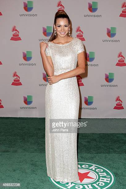 Marisela de Montecristo attends the 15th annual Latin GRAMMY Awards at the MGM Grand Garden Arena on November 20 2014 in Las Vegas Nevada