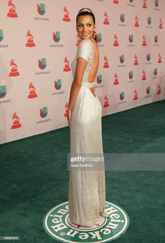 Marisela de Montecristo attends the 15th annual Latin GRAMMY Awards at the MGM Grand Garden Arena on November 20, 2014 in Las Vegas, Nevada.