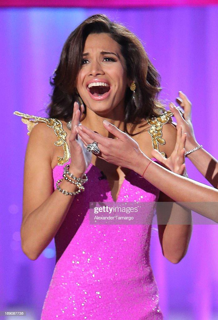 Marisela De Montecristo celebrates winning Univisions ...