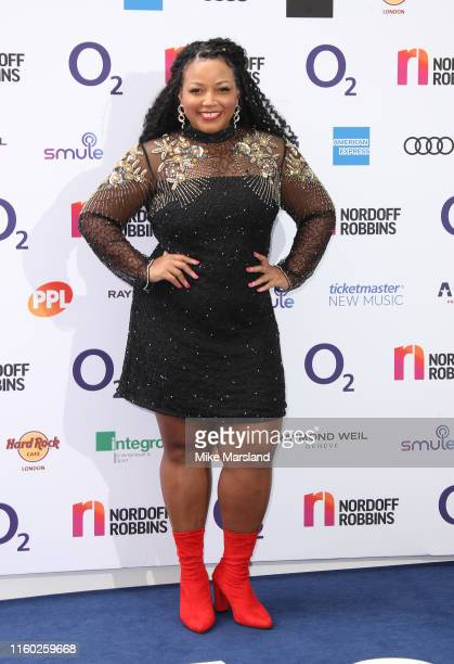 Marisha Wallace attends the Nordoff Robbins O2 Silver Clef Awards 2019 at Grosvenor House on July 05 2019 in London England