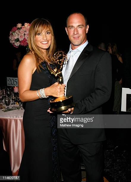 Mariska Hargitay and Christopher Meloni during 58th Annual Primetime Emmy Awards Governors Ball at The Shrine Auditorium in Los Angeles California...