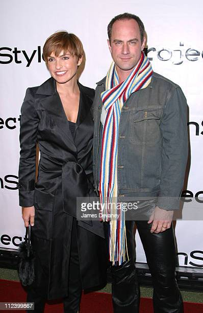 Mariska Hargitay and Christopher Meloni during Project ALS 5th Annual New York City Gala Tomorrow is Tonight Benefit at Roseland in New York City New...