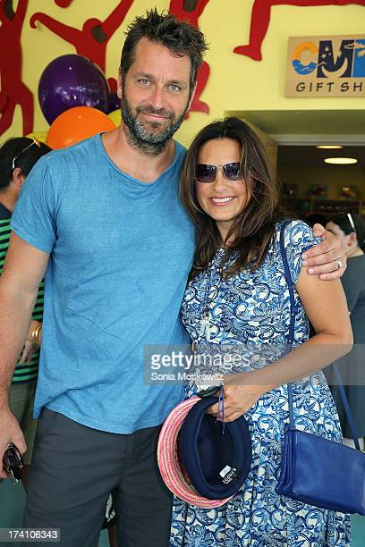 Mariska Hargitay and husband Peter Hermann attend The Children's Museum Of The East End 5th Annual Family Fair at Children's Museum of the East End...