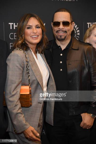 Mariska Hargitay and IceT attend the Law Order SVU Television Milestone Celebration at The Paley Center for Media on September 25 2019 in New York...