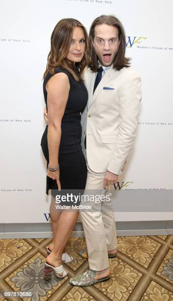 Mariska Hargitay and Jordan Roth attends The 7th Annual Elly Awards at The Plaza Hotel on June 19 2017 in New York City