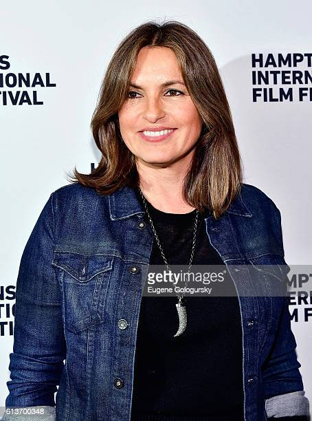 Mariska Hargitay attend the Awards Dinner at the Hamptons International Film Festival 2016 at Topping Rose on October 9 2016 in Bridgehampton New York