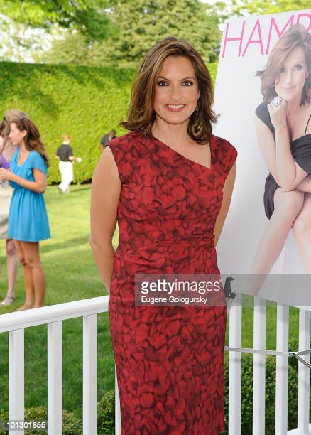 Mariska Hargitay attends a Memorial Day party hosted by Haley and Jason Binn on May 30 2010 in Southampton New York