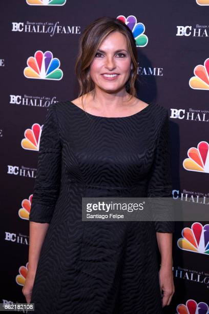 Mariska Hargitay attends the 2017 Broadcasting Cable Hall Of Fame 27th Anniversary Gala at Grand Hyatt New York on October 16 2017 in New York City
