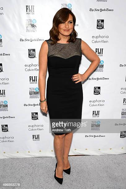 Mariska Hargitay attends the 25th annual Gotham Independent Film Awards at Cipriani Wall Street on November 30 2015 in New York City