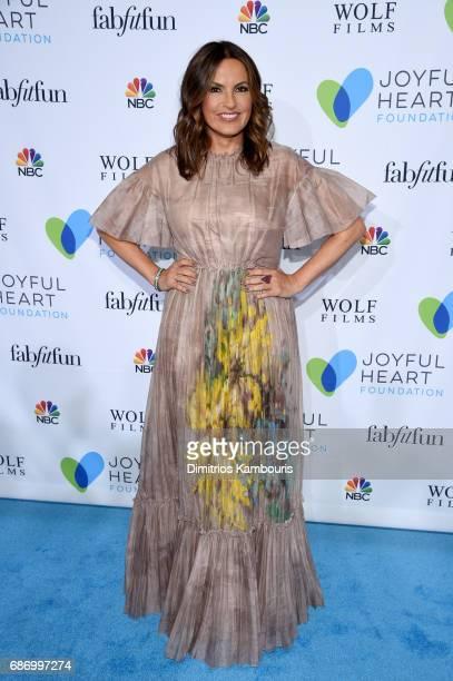 Mariska Hargitay attends The Joyful Revolution Gala In New York City hosted by Mariska Hargitay's Joyful Heart Foundation on May 22 2017 in New York...